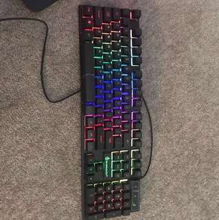 LED light keyboard