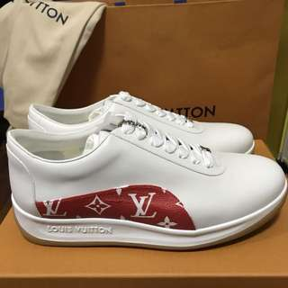 LV X Supreme Sneakers Shoes