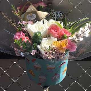 Flower Bouquet box