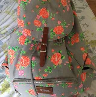 Victoria's Secret Pink Floral Backpack