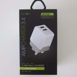 Energea Amp Charge Power Adapters Charger Fast 3.4A