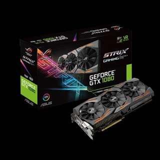 ASUS Strix GTX 1080 A8G