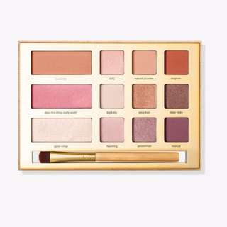 Tarte - limited edition swamp queen eye and cheek palette with brush