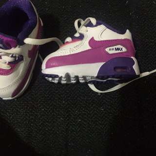 Baby Air Max nikes size 2.5