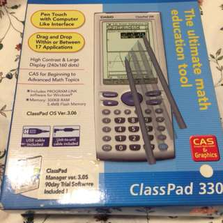 Graphic Calculator (Casio ClassPad 330)