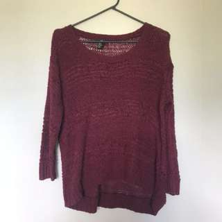H&M Crochet Jumper