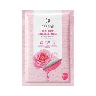 Besone Real Rose Botanical Mask