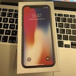 Brand New & Sealed Apple iPhone X 64gb Space Grey Unlocked