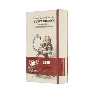 [NBPJ] Alice in Wonderland Moleskine Notebook