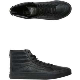 Vans Sk8 Hi tops/Leather Sz 8