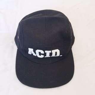 Acid Reign five panel cap.