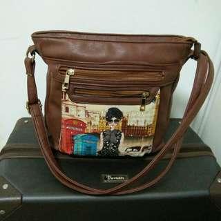 Vintage Messenger Sling Bag