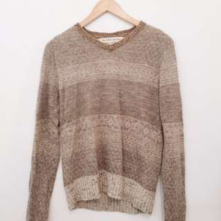 Cosmic Wonder Light Source v neck pullover jumper.