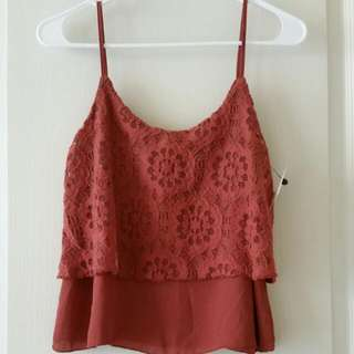 Rue21 Lace Tank Top