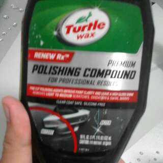 Polishing Compound Turtle Wax