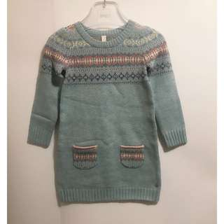 New! Esprit 4-5 years-old sweater dresses 毛衣連次裙 👧🏻❤️
