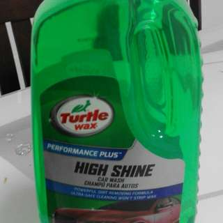 Car Shampoo Turtle Wax