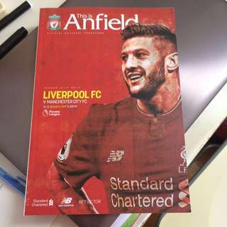 This is Anfield Matchday Programme