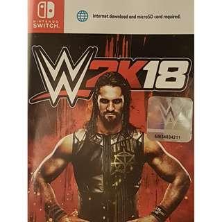 WWE 2K 18 for Nintendo Switch