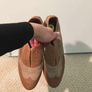 Joie leather and suede oxfords size 39
