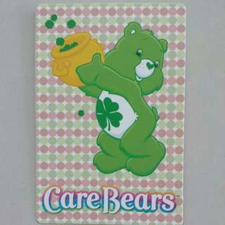 BLESS📬Brand New Authentic Good Luck Bear Care Bears Postcard / Greeting Card