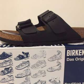 BIRKENSTOCKS ARIZONA BLACK