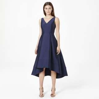 Size 16 Lydia V-neck Hi-lo Prom Dress