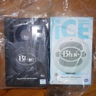 Blue Snowball and Blue Snowball iCE USB Condenser Microphone