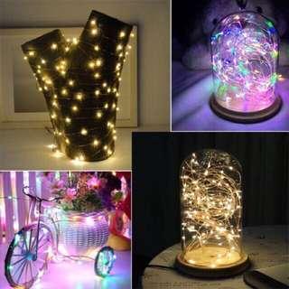 Fairy led lights (warm white/white/5m)