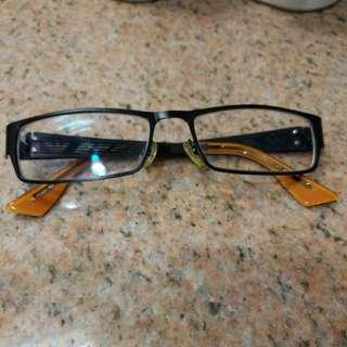 時款眼鏡(250度)