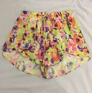 Colourful summer shorts