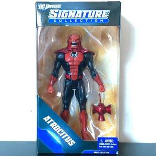 "DC UNIVERSE - Signature Collection - 6"" ATROCITUS RED LANTERN Action Figure"