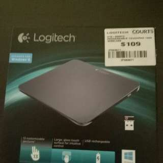 Wireless touch pad