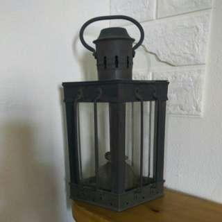 老品全銅煤油燈,收藏價1200元