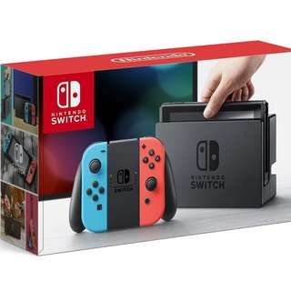Nintendo Switch Neon or Gray