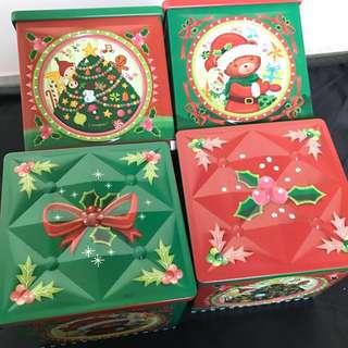 聖誕節立體造型鐵盒餅乾