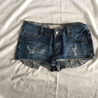 Yes Yes New Look Short Denim