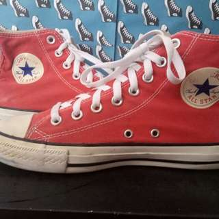 Converse ct as red