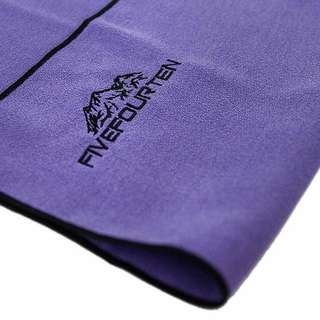 Purple Microfiber Gym Towel Quicky Dry