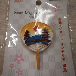 Resin Magnet interior fan from Japan