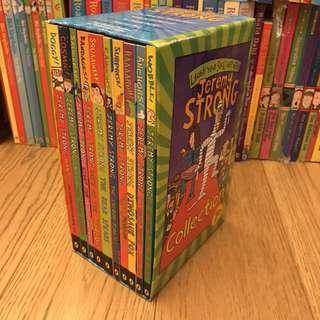 Jeremy Strong box set 95% new