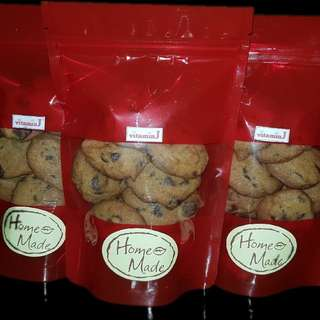 Chocolate chip cookies POUCH