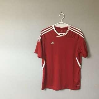 Unisex Red Adidas Shirt
