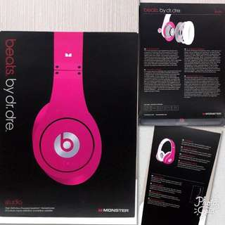 Dr. Dre Beats Studio Version - Hot Pink
