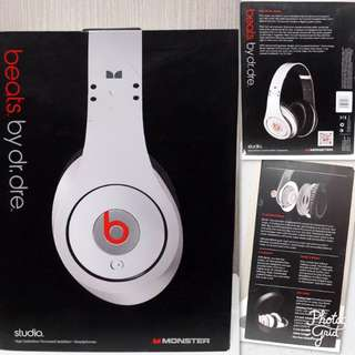 Dr. Dre Beats Studio Version - White