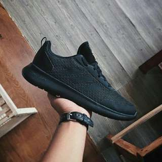 """Adidas Element Race Cloudfoam """"All Black"""" """"Running Course A Pied"""""""