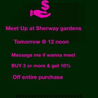 Meet Up @ Sherway Gardens tomorrow