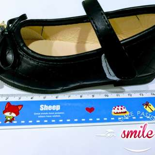 Children Girl Princess Shoe Black