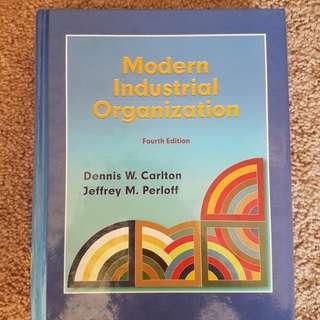 Modern Industrial Organization 4th Edition