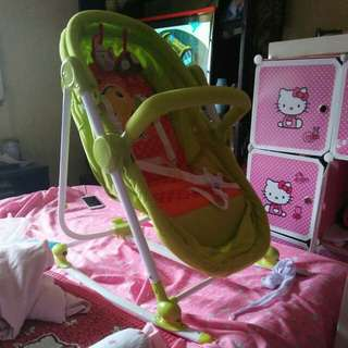 Baby 2 in 1 bassinet and chair